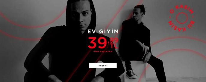 DeFacto Ev Giyim Ürünleri 39,99 TL'den Başlayan Fiyatlarla