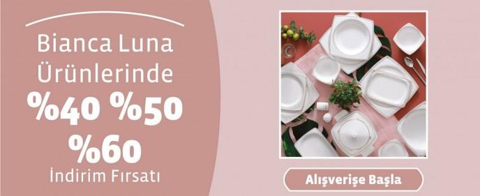 Linens Bianca Luna Ürünlerinde Geçerli %60'a Varan İndirimler