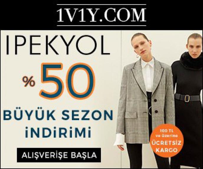 1V1Y de İpekyol ve Twist Markalarında %50 İndirim