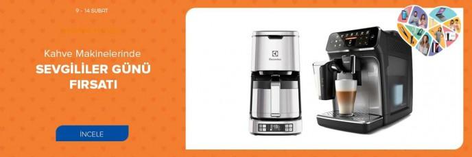 Teknosa Kahve Makinelerinde Sevgililer Günü Fırsatı