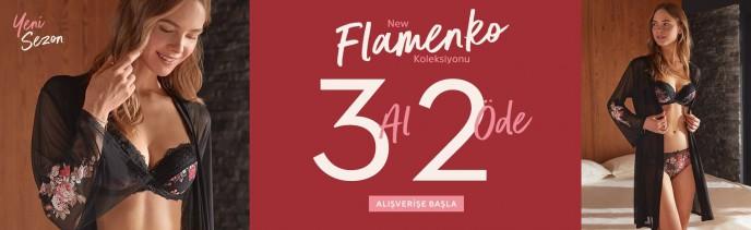 Suwen Flamenko Koleksiyonu'nda 3 Al 2 Öde!