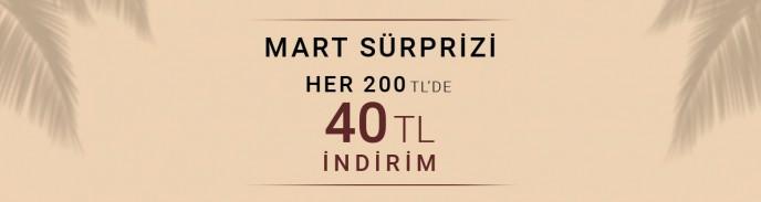 Pierre Cardin'de Mart Sürprizi! Her 200 TL'de 40 TL İNDİRİM