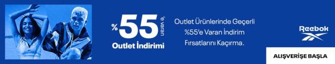 Reebok'ta %55'e Varan Outlet İndirimi Fırsatını Kaçırma!