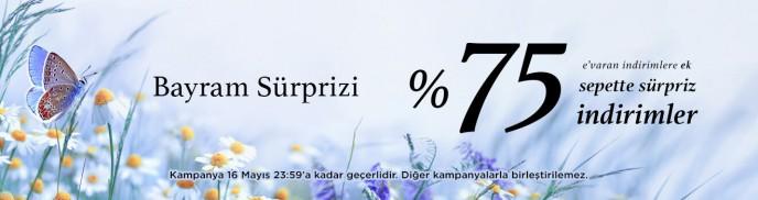 Brandroom'da %75'e Varan Bayram Sürprizi Devam Ediyor!