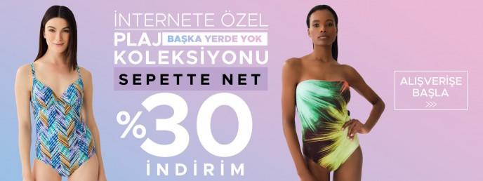 Dagi İnternete Özel Plaj Koleksiyonu'nda Sepette Net %30 İndirim!