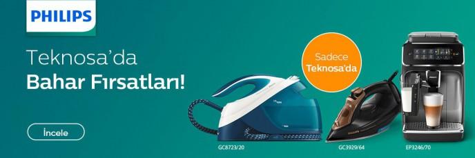 Philips Ürünleri Teknosa'ya Özel Bahar Fırsatları İle Satışta!