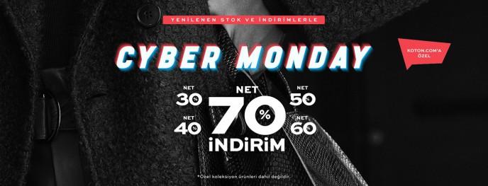 Koton'da Cyber Monday'e Özel %70'e Varan İndirim Fırsatları