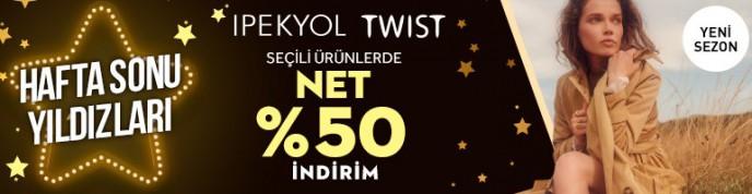 Morhipo İpekyol ve Twist Seçili Ürünlerinde Net %50 İndirim