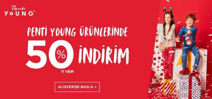 Penti Young Ürünlerinde %50'ye Varan İndirimler!