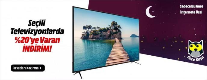 MediaMarkt Seçili TV Modellerinde %20'ye Varan İndirimler!