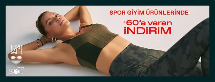 Koton Spor Giyim Ürünlerinde %60'a Varan İndirimler!