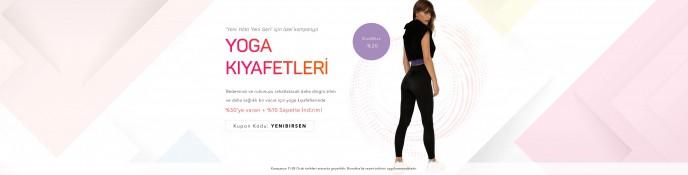 Lidyana Yoga Kıyafetlerinde %50 + %10 İndirim!