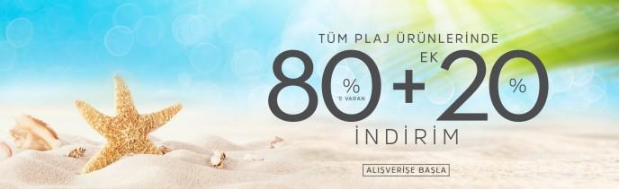 Suwen Tüm Plaj Ürünlerinde %80+%20 İndirim Fırsatı