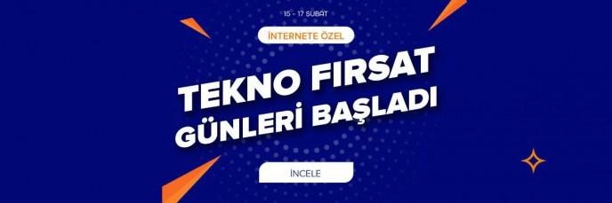 İnternete Özel Tekno Fırsat Günleri Teknosa'da!