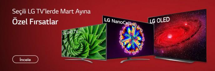 LG Tv'lerde Mart Ayına Özel Fırsatlar Teknosa'da!