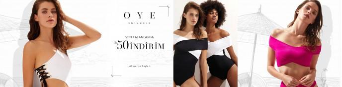 Lidyana OYE Swimwear Koleksiyonunda %50 İndirim
