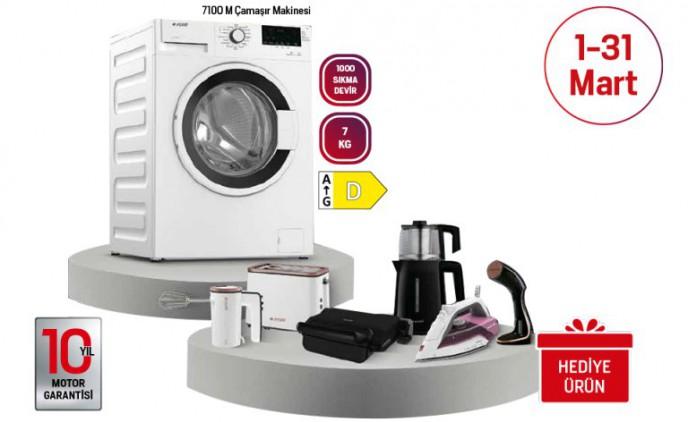 Arçelik'te Çamaşır Makinesi Alana Küçük Ev Aleti Hediye!