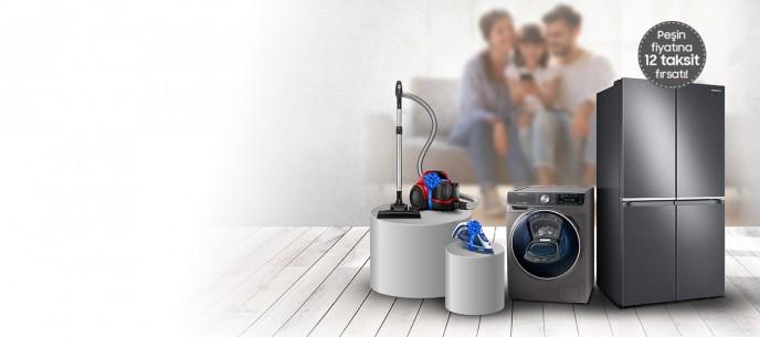 Samsung'ta Beyaz Eşyalarınızı Yenileme Fırsatı!