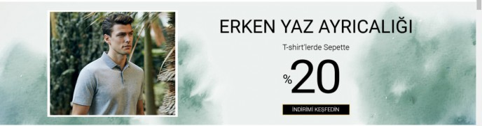 Cacharel'de Erken Yaz Ayrıcalığı Başladı! T-shirt Modellerinde %20 İndirim