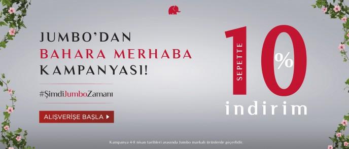 Jumbo'da Bahara Merhaba Kampanyası Başladı!