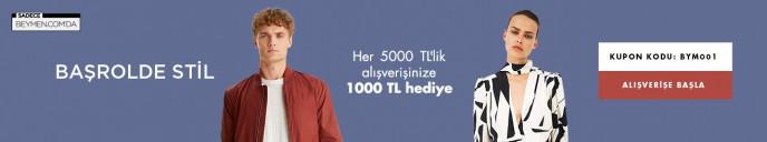 Beymen'de Her 5000 TL'ye 1000 TL İndirim Kampanyası