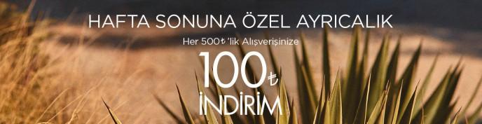 Cacharel'de Hafta Sonları 500 TL Harca, 100 TL Kazan!