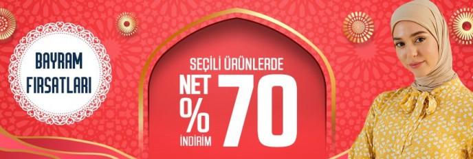 Modanisa Bayram Fırsatlarında Net %70 İndirim