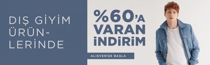 Avva Dış Giyim Ürünlerinde %60'a Varan İndirim