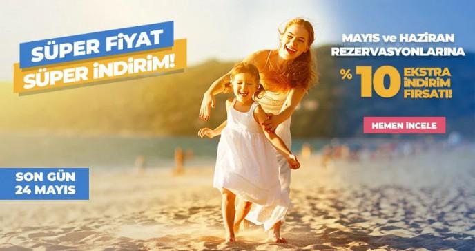 Tatil.com'da Mayıs Ve Haziran Rezervasyonlarına %10 İndirim Fırsatı