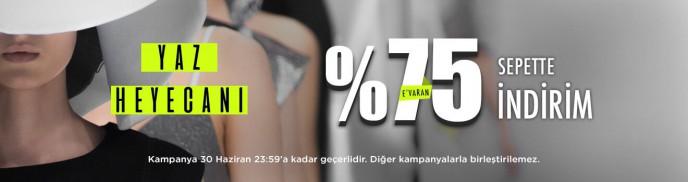 Brandroom'da Yaz Heyecanı! %75'e Varan İndirimler