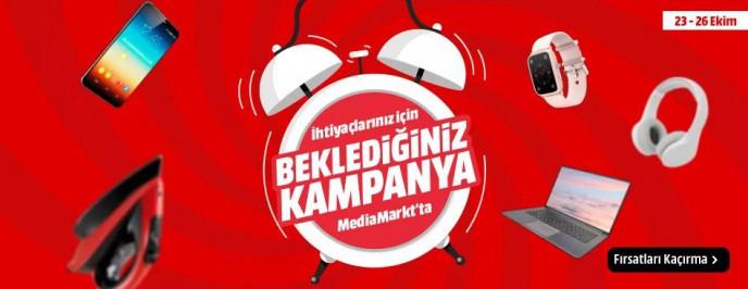 MediaMarkt'ta Elektronik İhtiyaçlar İçin Beklenen Kampanya Geldi!