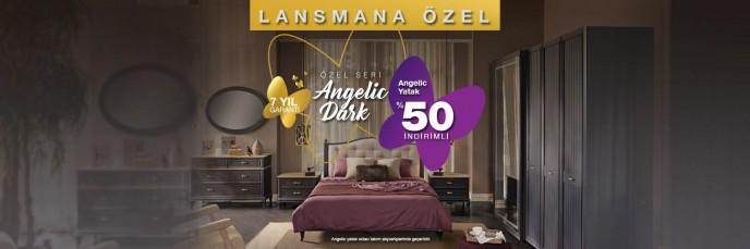 Kelebek'te Lansmana Özel Kampanya! Angelic Yatak %50 İndirimli