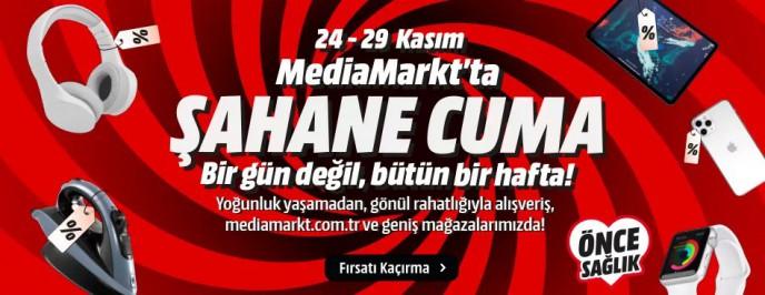 MediaMarkt'ta Şahane Cuma Bir Gün Değil, Bütün Hafta!