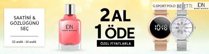 Trendyol Saat ve Gözlük Modellerinde 2 AL 1 ÖDE!