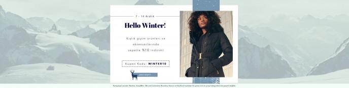 Lidyana'da Hello Winter Kampanyası Başladı!