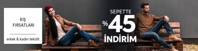 Trendyol'da Kış Fırsatları: Sepette %45 İndirim