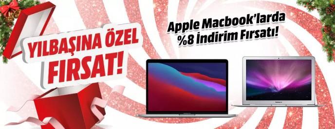 Mediamarkt Macbook Modellerinde Yılbaşına Özel Son Fırsatlar!
