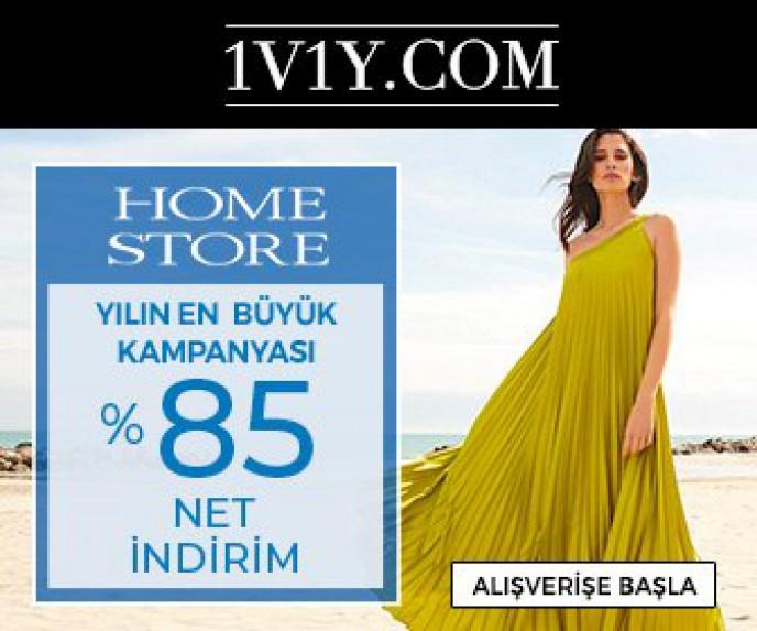 Home Store da %85 İndirim Fırsatı