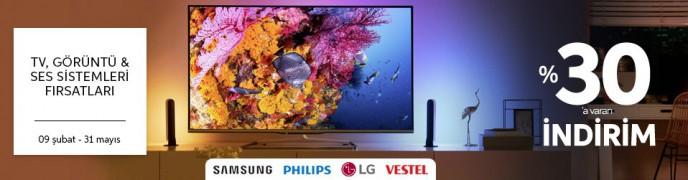 Trendyol TV, Görüntü ve Ses Sistemleri'nde %30'a Varan İndirim