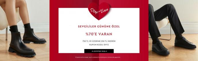 Sevgililer Günü'ne Özel %70'e Varan İndirim Divarese'de!