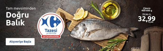 CarrefourSA'da Balık Kategorisinde Çipura Kampanyası!