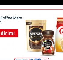 CarrefourSA'da Nescafe ve Coffee Mate Ürünlerinde %30 İndirim!