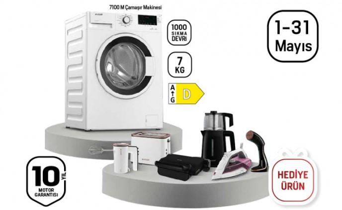 Arçelik'ten Çamaşır Makinesi Alana Küçük Ev Aleti Hediye!