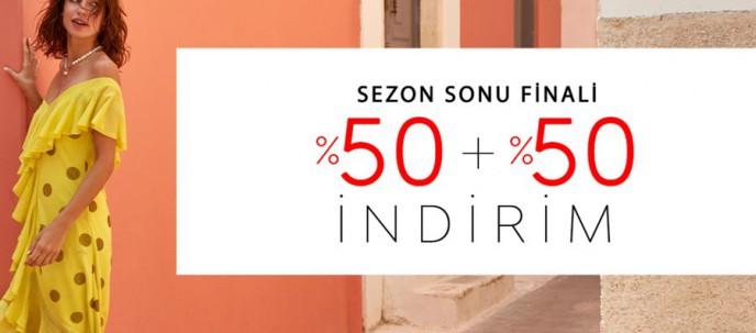 Setre'de %50 + %50 İndirimle Sezon Sonu Finali!