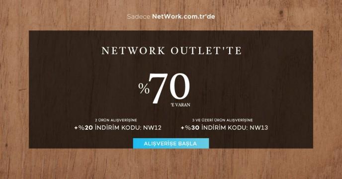 Network Outlet'te %70'e Varan İndirimler!