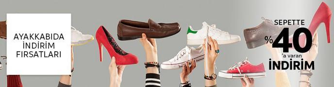 Trendyol Ayakkabı Modellerinde Geçerli %40'a Varan İndirimler