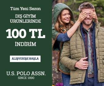 U.S. Polo Assn. de Tüm Yeni Sezon Dış Giyim Ürünlerinde Sepette 100 TL İndirim!