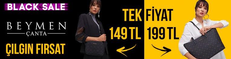 Morhipo'da Black Friday! Beymen Çantada Tek Fiyat! 149-199 TL
