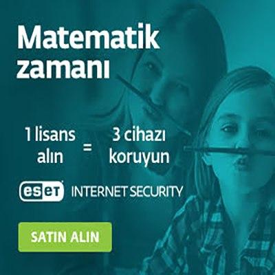 Eset İnternet Security'de Fırsat! Şimdi 1 Fiyatına 3 Kullanıcı