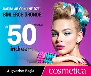 Cosmetica'da Kadınlar Gününe Özel Binlerce Üründe %50 İndirim!